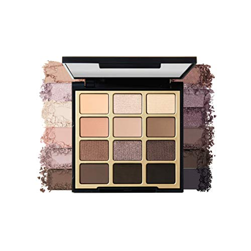 Milani - Milani Soft & Sultry Eyeshadow Palette (.48 Ounce) 12 Cruelty-Free Smoky Matte & Metallic Eyeshadow Colors for Long-Lasting Wear
