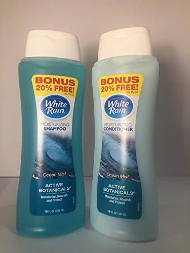 White Rain - Active Botanicals OCEAN MIST Moisturizing Shampoo & Conditioner 18OZ
