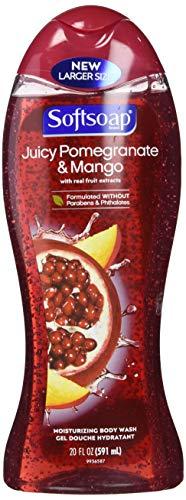Softsoap Softsoap Ssbw 20F/591ml Cs Sp Pomegrante & Mango, 1.46875 Fl Oz