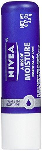 Nivea - NIVEA A Kiss of Moisture Essential Lip Care, 0.17 Oz