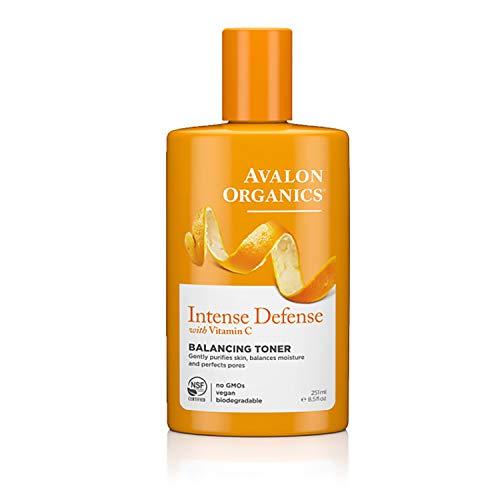 Avalon - Avalon Organics Intense Defense Balancing Toner, 8.5 oz.