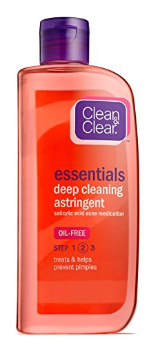 Clean & Clear - Clean & Clear ESSNTIALS Deep Cleaning Astringent , 8-Ounce (Pack of 2)