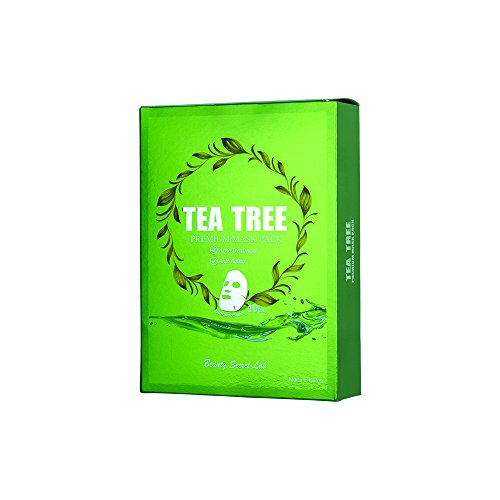 Kina Cosmetics - Tea Tree Facial Mask (10PK)