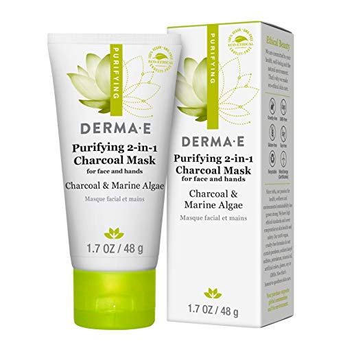 Derma E - Purifying 2-in-1 Charcoal Face Mask with Activated Charcoal