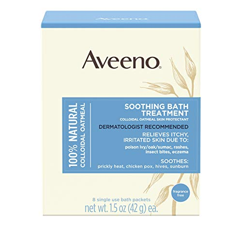 Aveeno - Aveeno Soothing Bath Treatment For Itchy, Irritated Skin, 8 Count