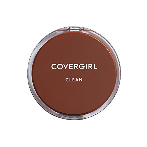 Covergirl - CoverGirl Clean Pressed Powder Compact, Classic Ivory [110], 0.39 oz (Pack of 2)