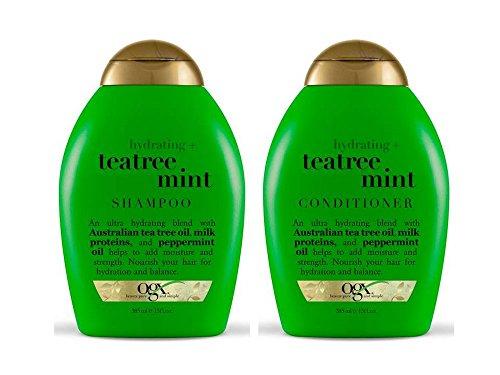 Ogx - Organix: Tea Tree Mint Hydrating Shampoo + Conditioner, 13 oz Combo Pack