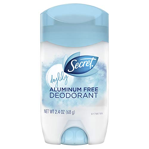 Aluminum Free - Secret Aluminum Free Deodorant Daylily 2.4 oz (Pack of 2)