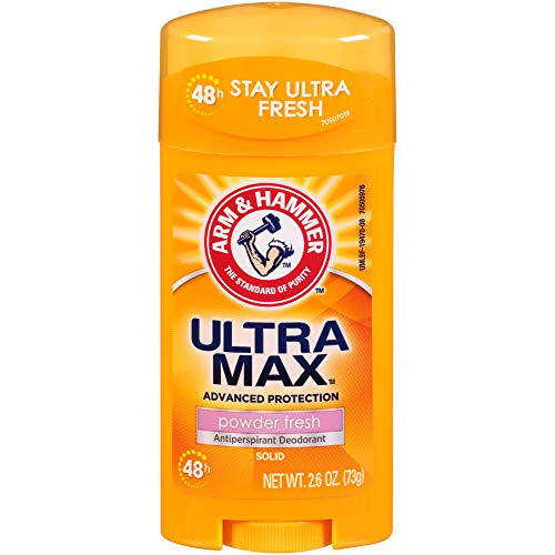Arm & Hammer - Arm and Hammer Ultramax Deodorant and Antiperspirant - Powder Fresh, 2.60 Ounce (Pack of 4)