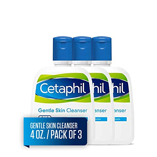 Cetaphil - Cetaphil Gentle Skin Cleanser, 4 Ounce (Pack of 3)
