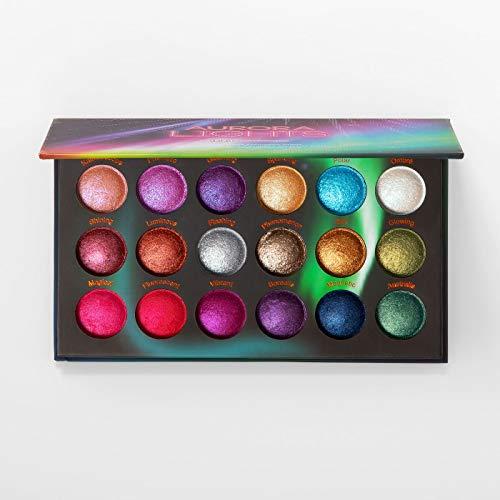 Bhcosmetics - Baked Eyeshadow Palette, Aurora Lights