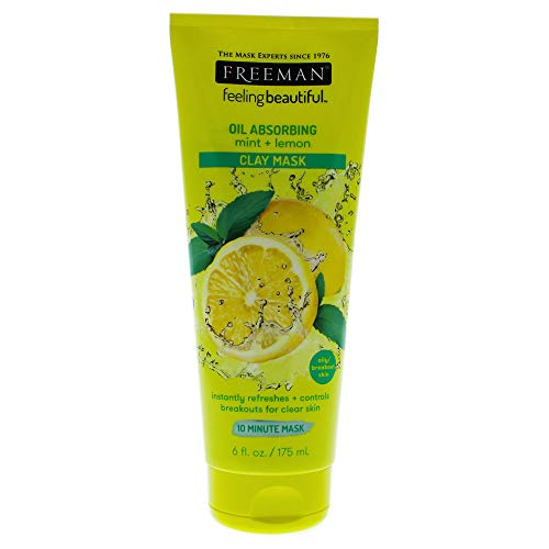 Freeman - Feeling Beautiful Facial Clay Mask, Mint and Lemon