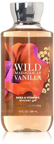 Bath & Body Works - WILD MADAGASCAR VANILLA Shower Gel 10 fl oz / 295 mL