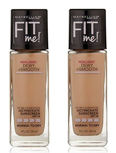 Maybelline - Maybelline New York Fit Me! Foundation, Classic Ivory [120], 1 oz (Pack of 2)