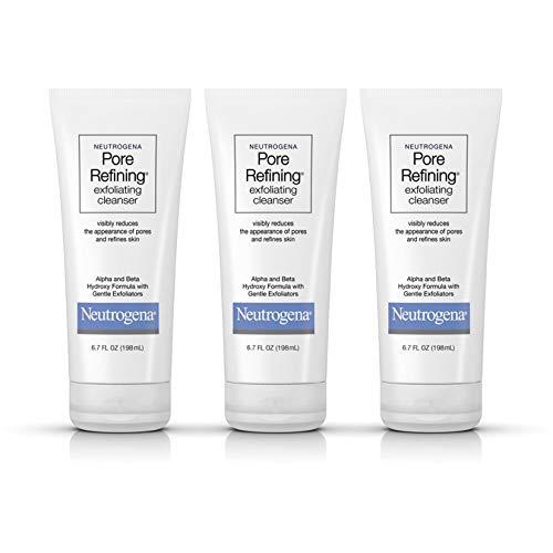 Neutrogena - Pore Refining Exfoliating Facial Cleanser with Glycolic Acid