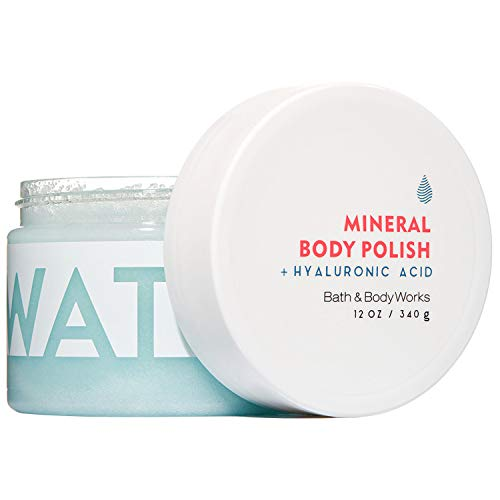 Bath & Body Works - Bath and Body Works WATER Hyaluronic Acid Mineral Body Polish 12 Ounce