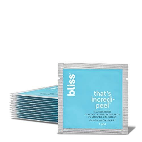 Bliss - That's Incredi-peel Glycolic Resurfacing Pads