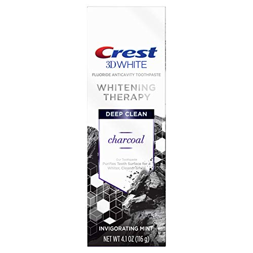 Crest - 3D White Whitening Therapy Charcoal Deep Clean Fluoride Toothpaste