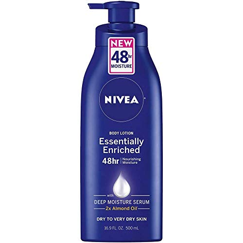 Nivea - Nivea Lotion Essentially Enriched 16.9 Ounce Pump (Very Dry Skin) (500ml) (6 Pack)