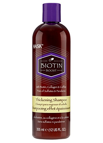 Hask - Hask Hask Biotin Boost Thickening Shampoo, 12 Oz, 12 Ounce