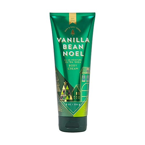 Bath & Body Works - Bath & Body Works Vanilla Bean Noel Ultra Shea Body Cream, 8 Ounce, Multicoloured