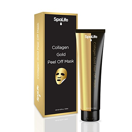 Spalife - Spa Life Argan Black Mask - Blackhead Remover - Activated Charcoal Face Mask - Peel Off Mask - 4.05oz