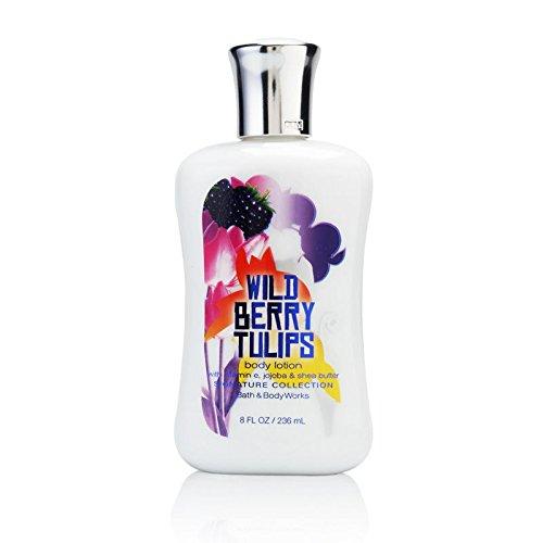 Bath & Body Works - Wild Berry Tulips Body Lotion