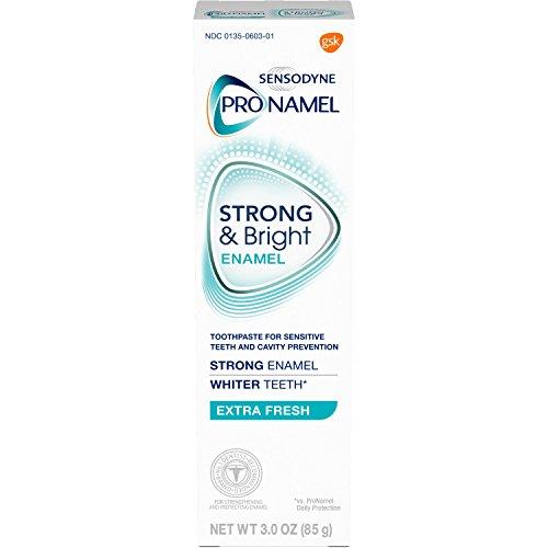 Sensodyne - Sensodyne Pronamel Strong and Bright Extra Fresh Toothpaste, 3 Oz (Pack of 2)