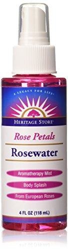 Heritage Store - Rosewater Heritage Store 4 oz Liquid
