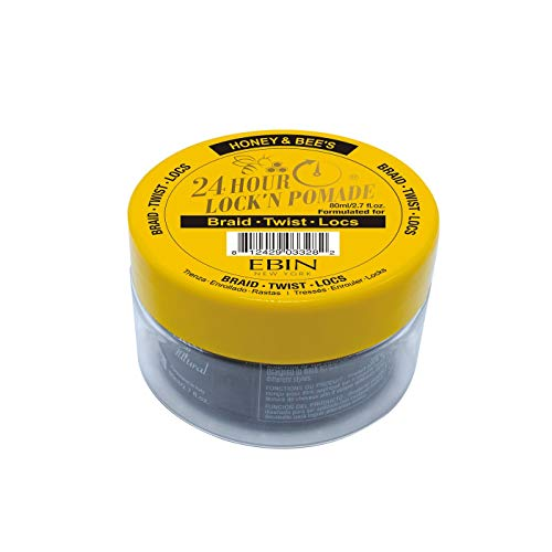 Ebin - EBIN New York 24 Hour Lock N Pomade with Honey | For Braid Twist Locs (2.7 oz)