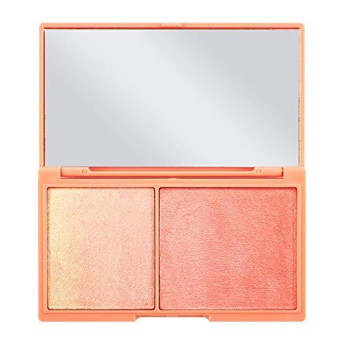 Makeup Revolution - Highlighter Illuminator Duo, Peach and Glow Chocolate Duo