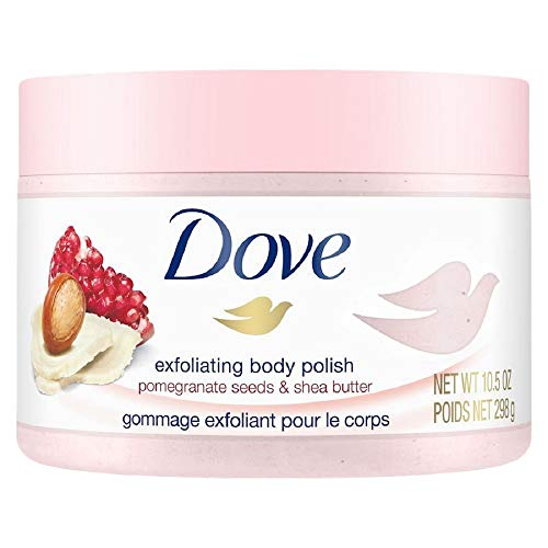 Dove - Dove Exfoliating Body Polish Body Scrub, Pomegranate & Shea, 10.5 oz