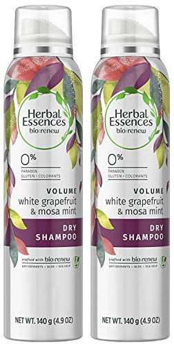Herbal Essences - Herbal Essences Biorenew White Grapefruit & Mosa Mint Dry Shampoo, 4.9 FL OZ