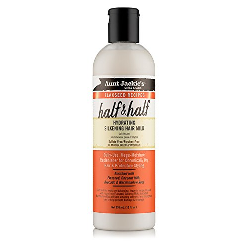 Aunt Jackie's - Flaxseed Recipes Half & Half, Hydrating Silkening Hair Milk