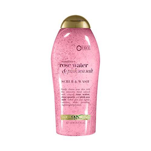 Ogx - Pink Sea Salt & Rosewater Gentle Soothing Body Scrub