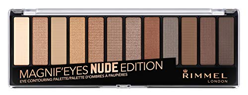 Rimmel - Magnif'eyes Eye Palette, Keep Calm and Wear Nude