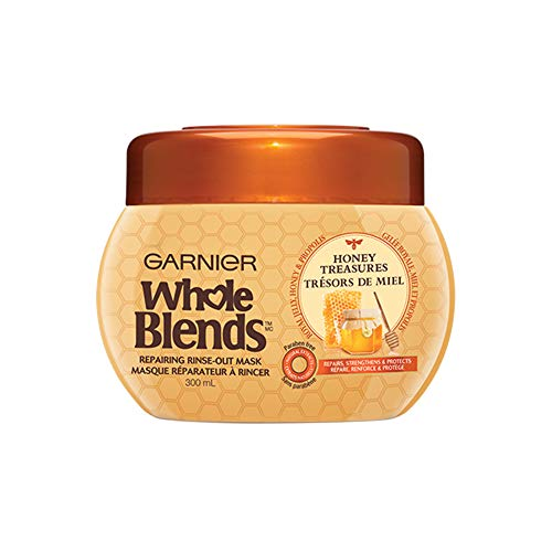 Garnier - Garnier Whole Blends Mask Honey Treasures 10.1 Ounce Jar (300ml) (6 Pack)