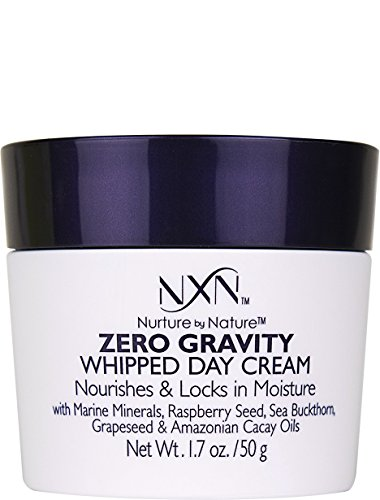 Nurture by Nature - NxN Zero Gravity Whipped Day Cream Face Moisturizer, Natural and Organic Anti Aging Formula for Dry or Sensitive Skin, Men and Women, 1.7 Oz