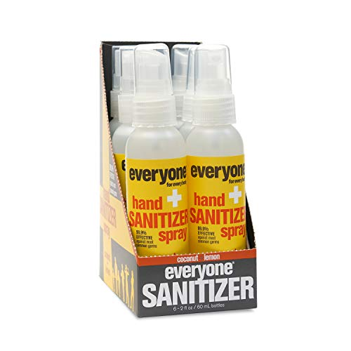 Everyone - Hand Sanitizer Spray, Coconut and Lemon