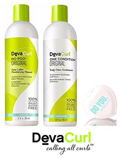 Devacurl - No-Poo Zero-Lather Duo Set