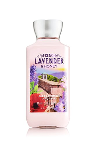 Bath & Body Works - Bath and Body Works French Lavender Honey Lotion 8 Ounce Full Size