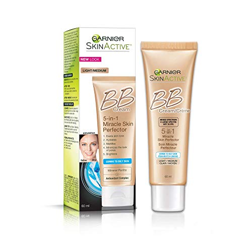 Garnier - SkinActive BB Cream Oil-Free Face Moisturizer