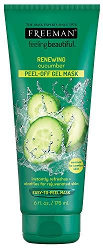 Freeman - Freeman Feeling Beautiful Cucumber Peel-Off Gel Mask, 6-Ounce, 2 Count