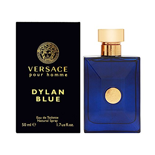 Versace - VERSACE Pour Homme Dylan Blue for Men Eau De Toilette Spray, 1.7 Ounce