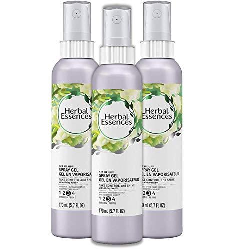 Herbal Essences - Herbal Essences Set Me Up Spray Gel, 5.7 fl oz(Pack of 3)