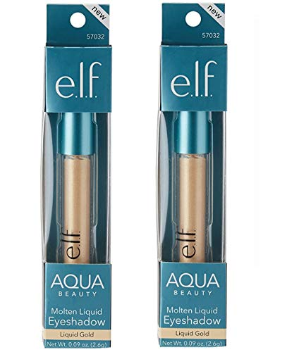 E.l.f Cosmetics - e.l.f. Aqua Beauty Molten Liquid Eyeshadow Rose Gold, .09 oz