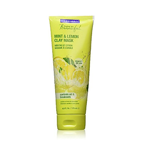 Freeman - Freeman Facial Mint & Lemon Clay Mask 6 Ounce (177ml) (3 Pack)