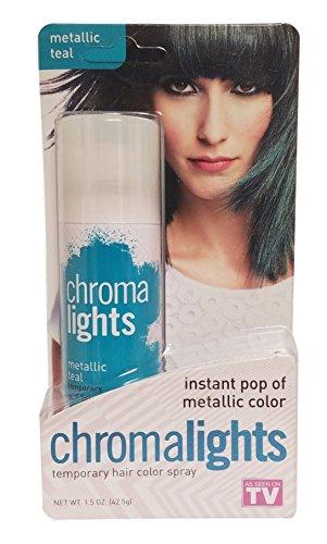 Chroma Lights - ChromaLights Instant Pop of Color Temp.Hair Color Metallic Teal