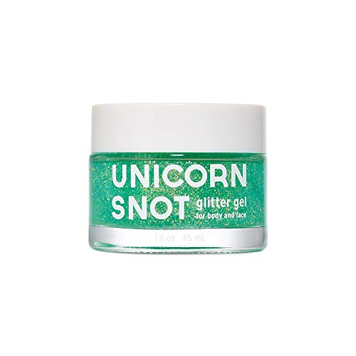 Unicorn Snot Glitter Gel - Unicorn Snot Vegan and Cruelty Free Glitter Gel for Face, Body, and Hair in Holographic Blue