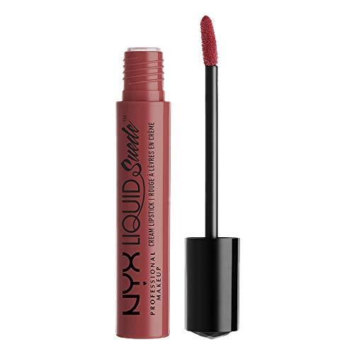 NYX - Liquid Suede Cream Lipstick, Soft-Spoken